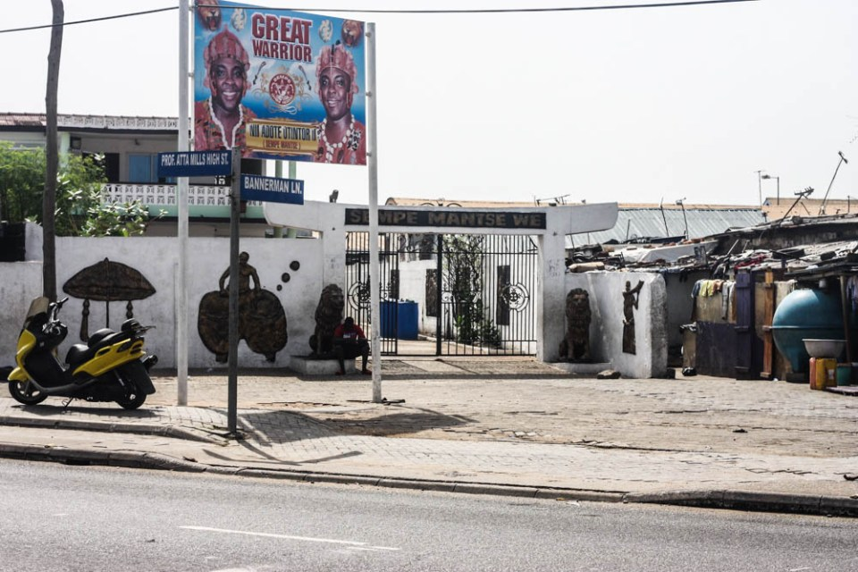 Going deep into James Town Accra, Ghana