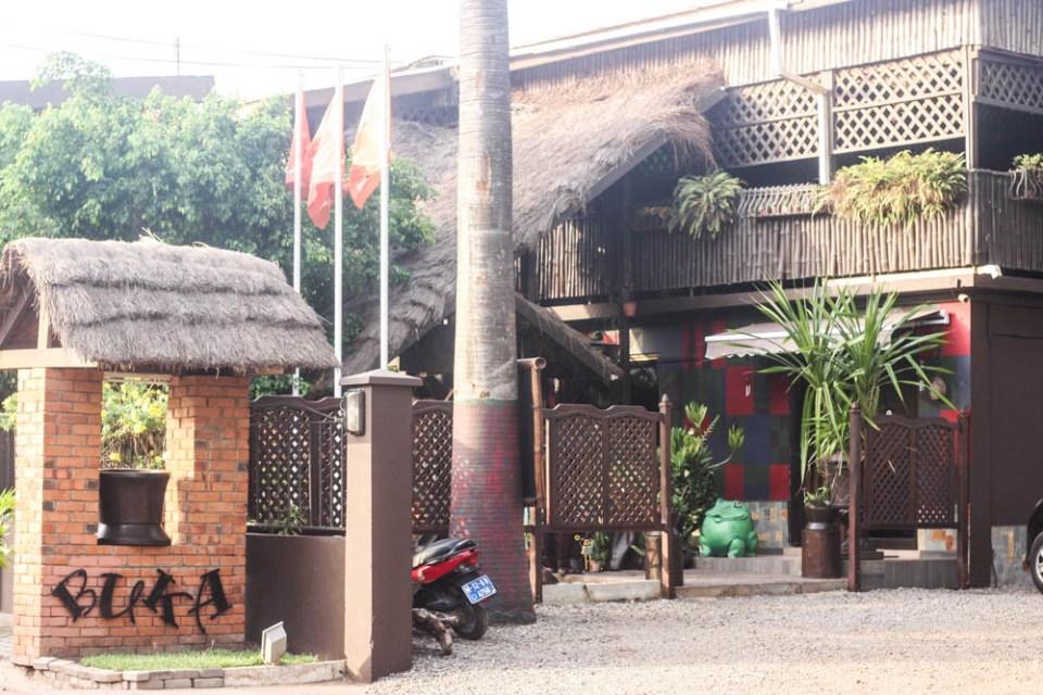 Experiencing Ghana's Bukka restaurant