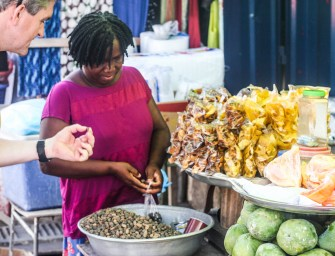 Backpacking from Accra to Cape Coast: Savouring the street food