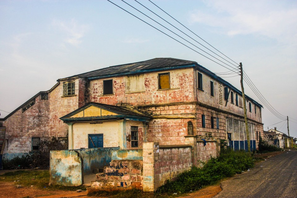 Backpacking from Accra to Cape Coast: The Architecture