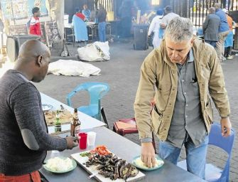 Watch Anthony Bourdain explore South African cuisine