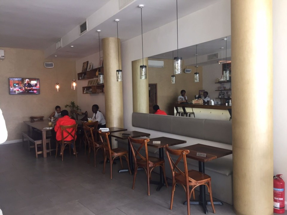 Accra Series: Brunch at Accra's Cafe Kwae
