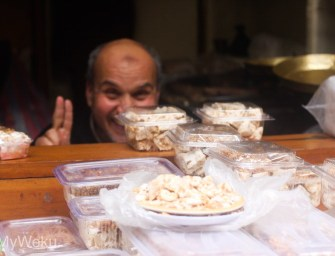 Mr Smiley the Nougat seller
