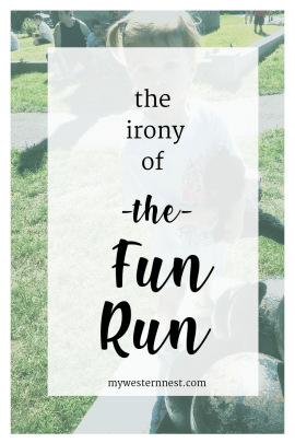 The Irony of the Fun Run: considering a