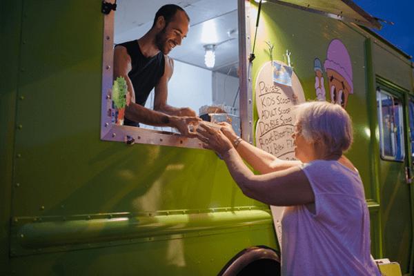 Full Tilt Ice Cream at Skyway Outdoor Cinema 2017 (photo by Caroline Walker Evans)