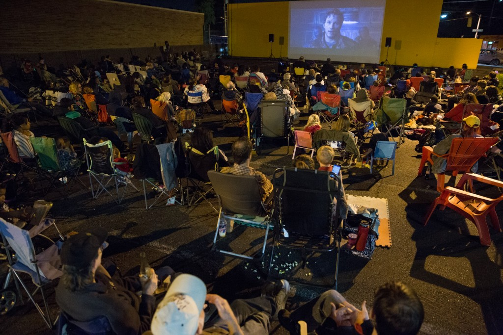 Guardians of the Galaxy at Skyway Outdoor Cinema (Photo by Alex Garland)