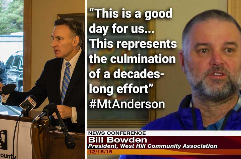 WHCA Mt.Anderson Dow Constantine Presser