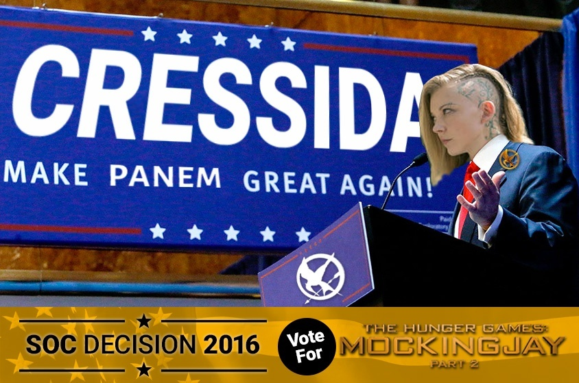 Skyway Outdoor Cinema: Decision 2016 - The Hunger Games: Mockingjay Part 2