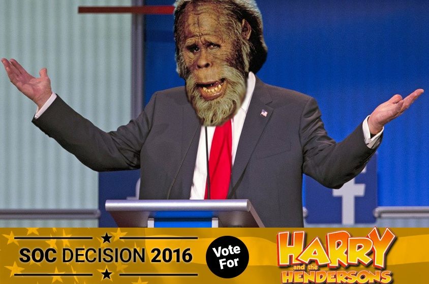 Skyway Outdoor Cinema: Decision 2016 - Harry and the Hendersons