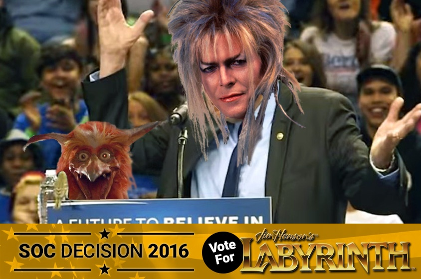 Skyway Outdoor Cinema: Decision 2016 - Labyrinth