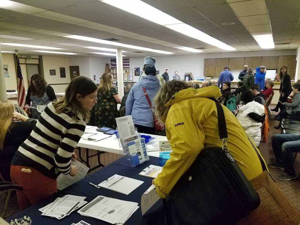 WHCA Winter Quarterly Meeting 2020 guests arrive at Skyway VFW 2020-01-21