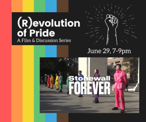 Online: (R)evolution of Pride Film & Discussion Series