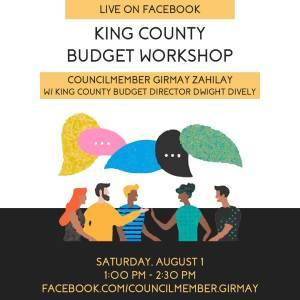 Community Budget Workshop @ Online