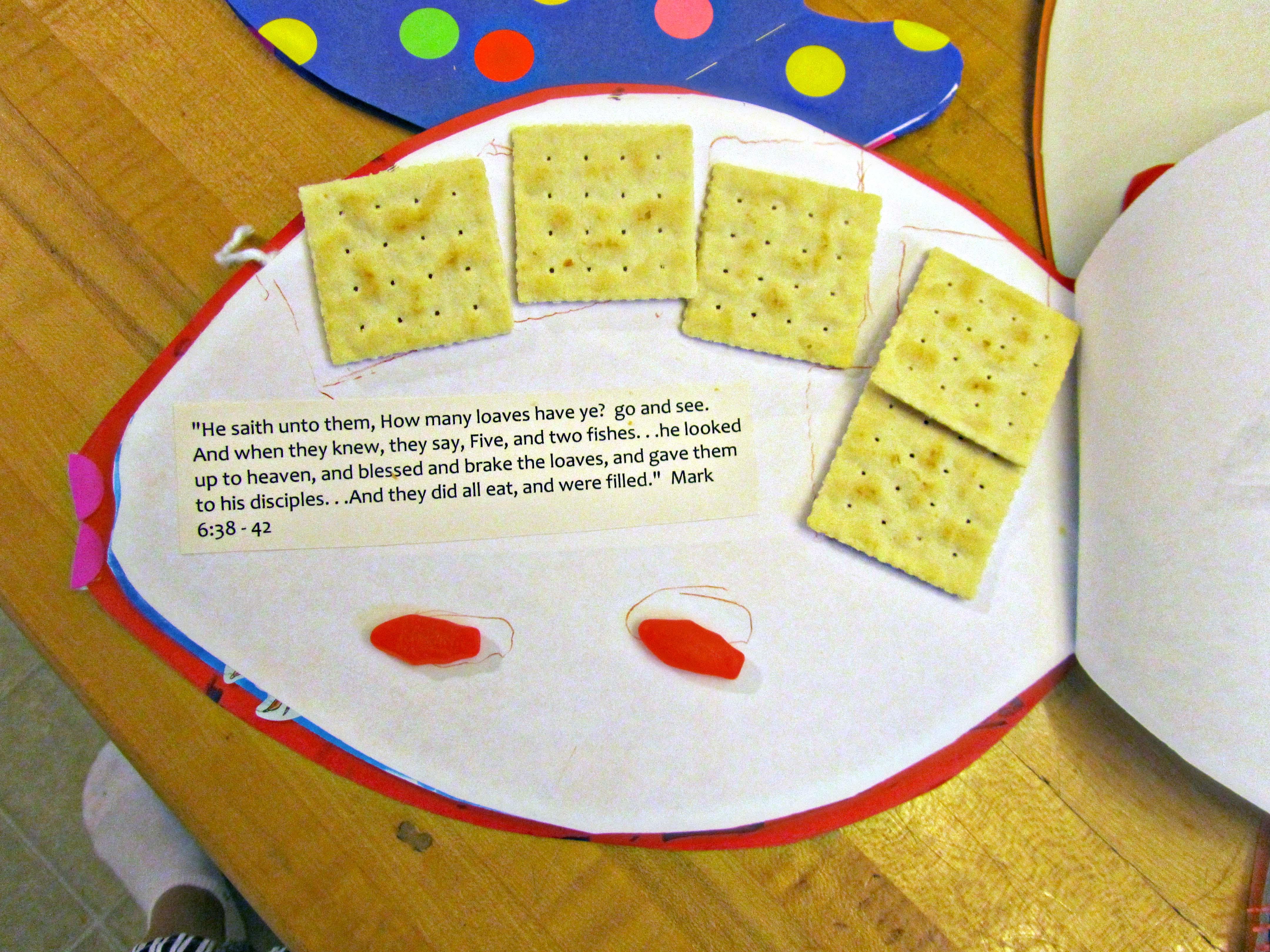 Sunday Sunday School Project Finished Fish Books