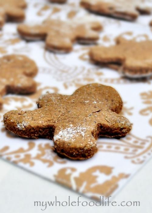 Gingerbread Cookies - My Whole Food Life