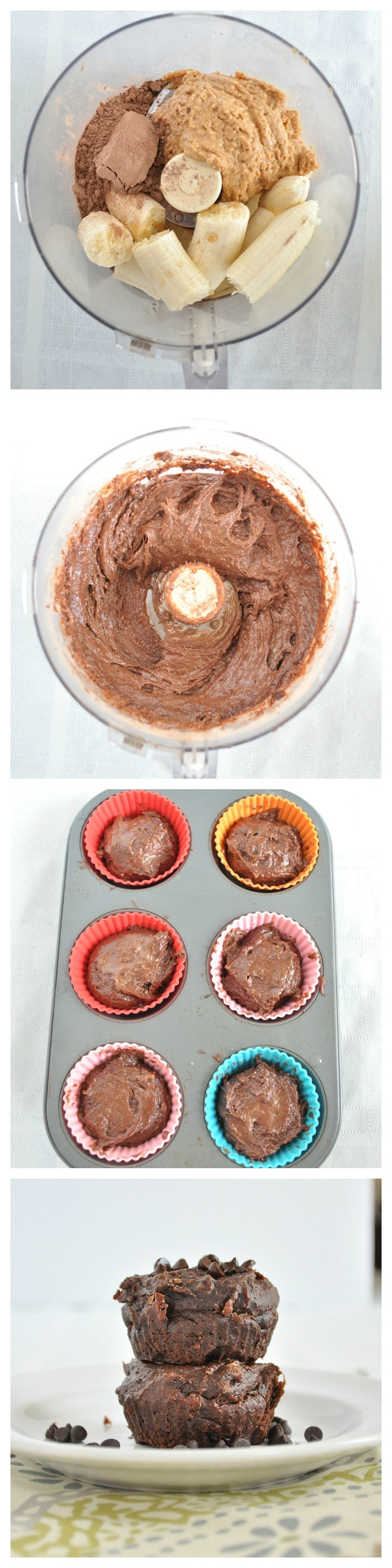 Flourless Chocolate Muffin Kroki