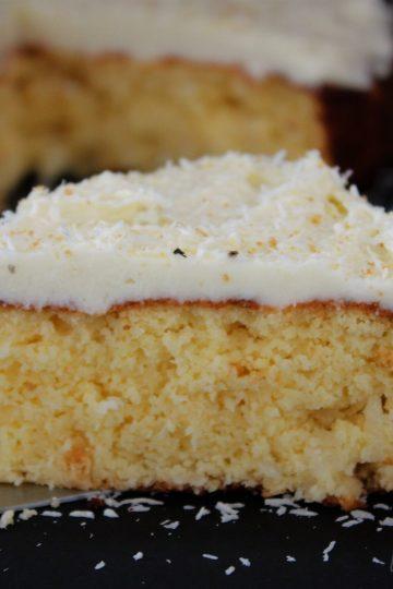 Кето кокосова торта