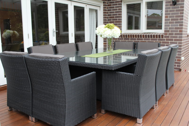 Outdoor Furniture 10 Seater