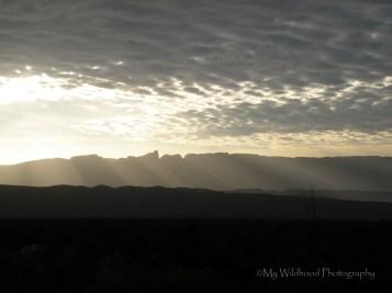 Sunrise Over the Carmens, Big Bend National Park, Texas