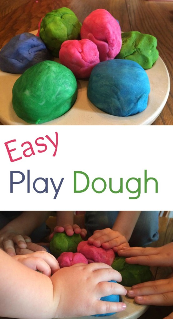 Pinterest Easy Play Dough