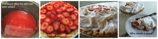 Strawberry Pie Collage