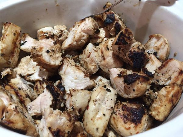 grilled chicken in pan 2