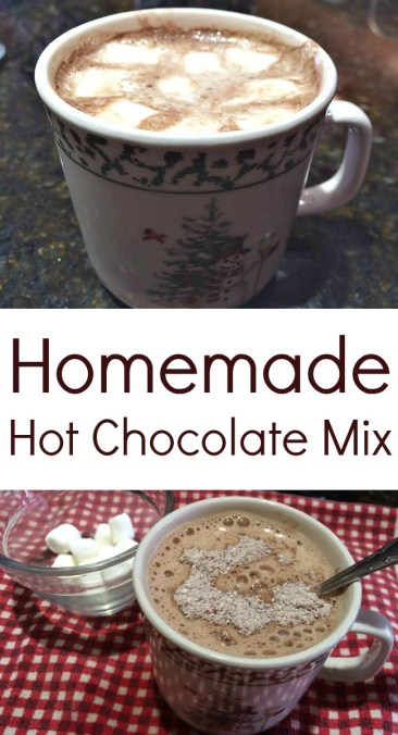 Pinterest Homemade Hot chocolate mix