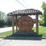 Vina Santa Rita sign