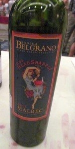 Bodega Belgrano Its a Headsnapper Malbec 2011