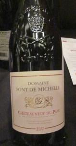 Domaine Font de Michelle Chateauneuf du Pape 2010