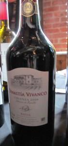 Dinastia Vivanco Rioja Crianza 2008