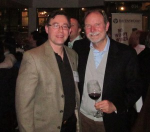 Karl with Joel Peterson of Ravenswood Winery