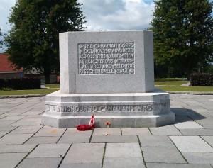 Paschendale cenotaph