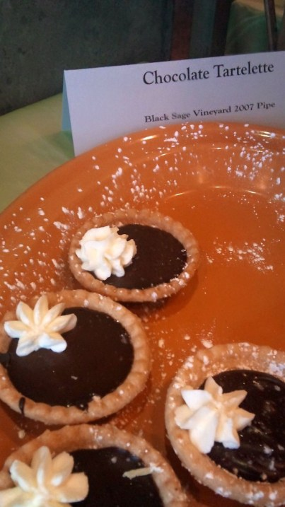 Chocolate tartlette