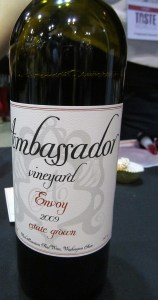 Ambassador Vineyard Envoy 2009
