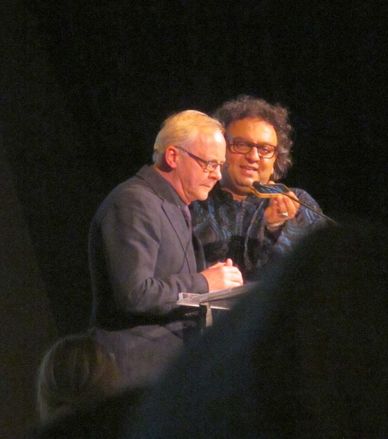 John Bishop and Vikram Vij