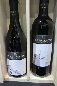 Lauren Ashton Cellars Syrah and Cuvee Arlette