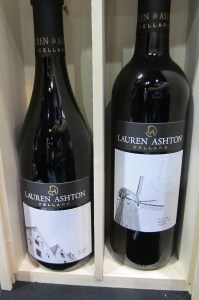 Lauren Ashton Cellars Syrah and Cuvee Arlette
