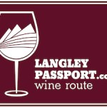 Langley Passport Wine Tour sign