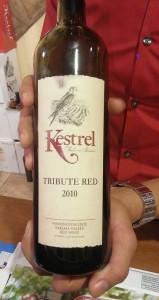 Kestrel Falcon Series Tribute Red 2010