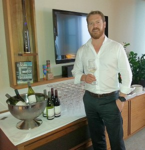 Wine maker Tim Heath from Cloudy Bay
