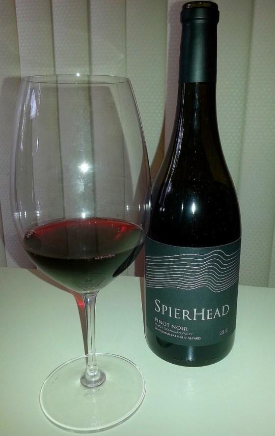 SpierHead Pinot Noir 2012