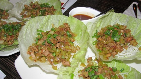 BBQ duck salad