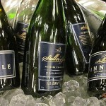 Stellers Jay sparkling wines on ice