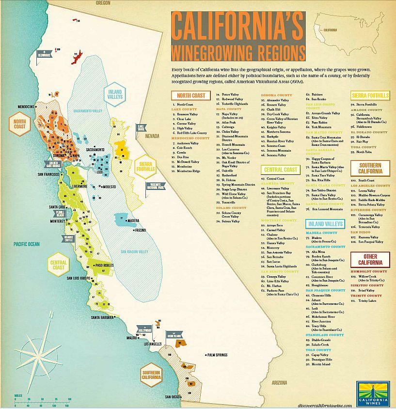 My California Wine Fair 2014 Picks Mywinepal