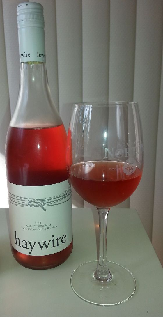 Haywire Gamay Noir Rose 2011
