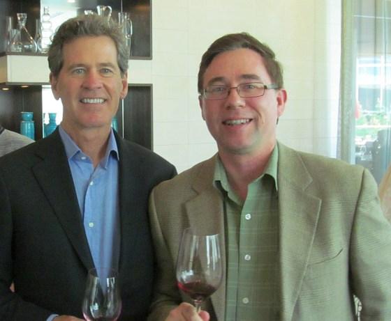 Paul Hobbs and Karl MyWinePal