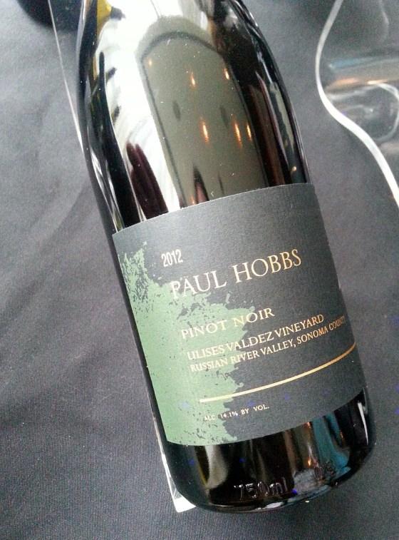 Paul Hobbs Ulises Valdez Vineyard Pinot Noir 2012