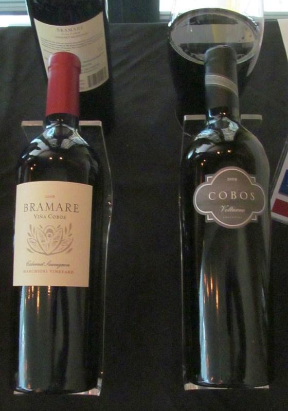 Vina Cobos Bramare Marchiori Vineyard Cabernet Sauvignon and Cobos Volturno