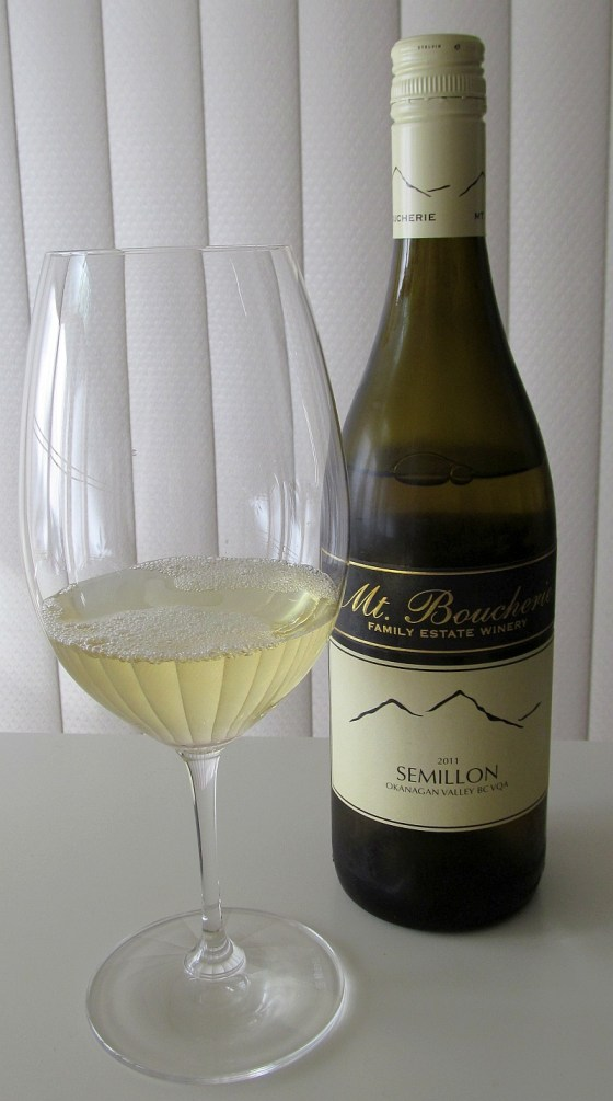 Mt Boucherie Semillon 2011